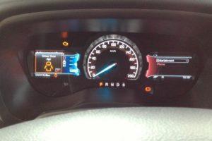 màn hình hiển thị thông tin xe ford ranger 2017