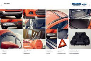 phụ kiện chính hãng xe ford ecosport 2017
