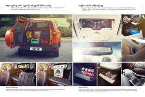 ngăn để đồ xe ford ecosport 2017