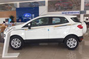 hình ảnh xe ford ecosport 2017 màu trắng