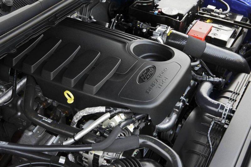 Động cơ xe Ford Ranger 2017