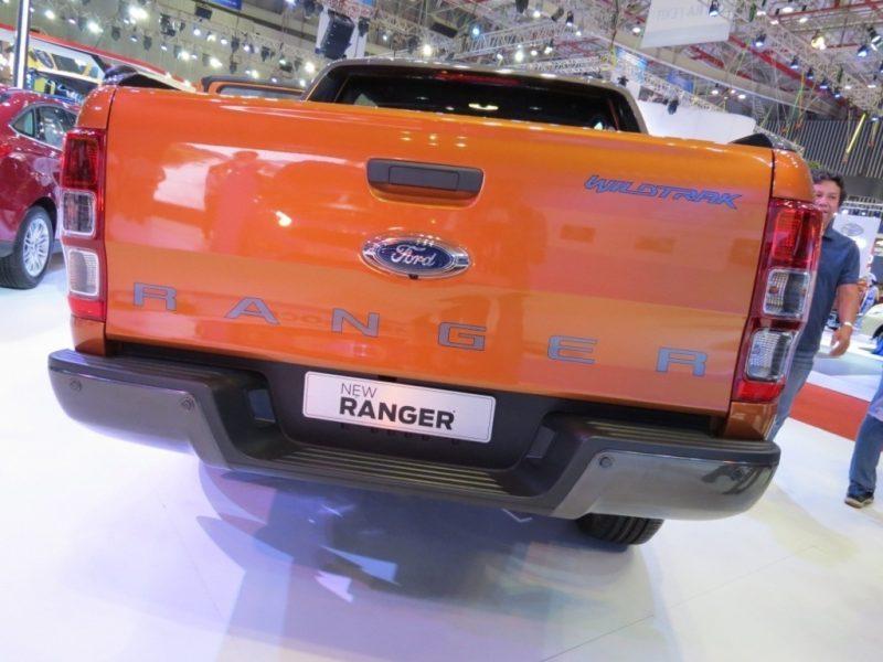 Thùng Xe Ford Ranger 2017