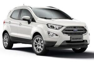 ford ecosport màu trắng có tại long biên ford