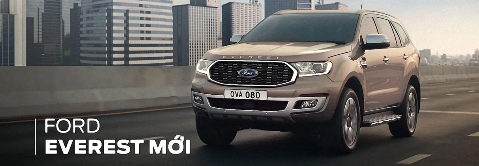 Ford Everest 2021 - Đẳng cấp Mỹ