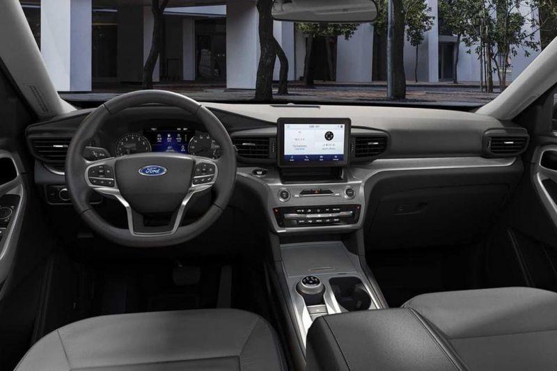 mặt táp lô ford explorer 2021 tại ford long biên
