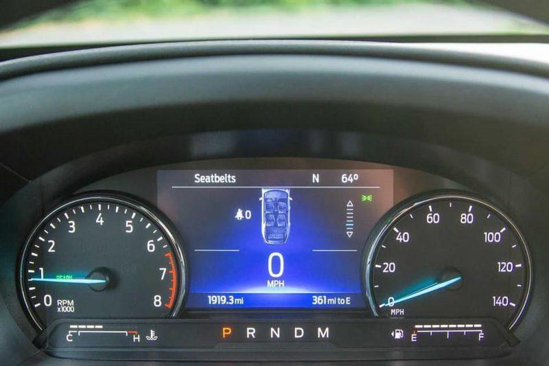đồng hồ hiển thị ford explorer 2021 tại ford long biên