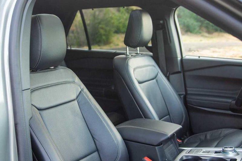 ghế trước ford explorer 2021 tại ford long biên