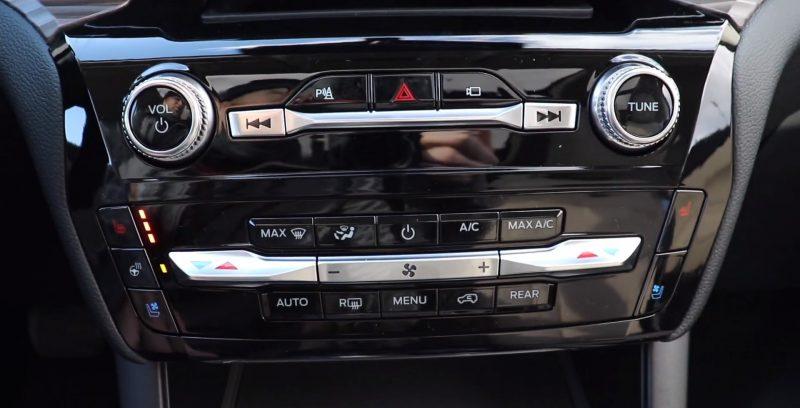 bảng điều khiển ford explorer 2021 tại ford long biên