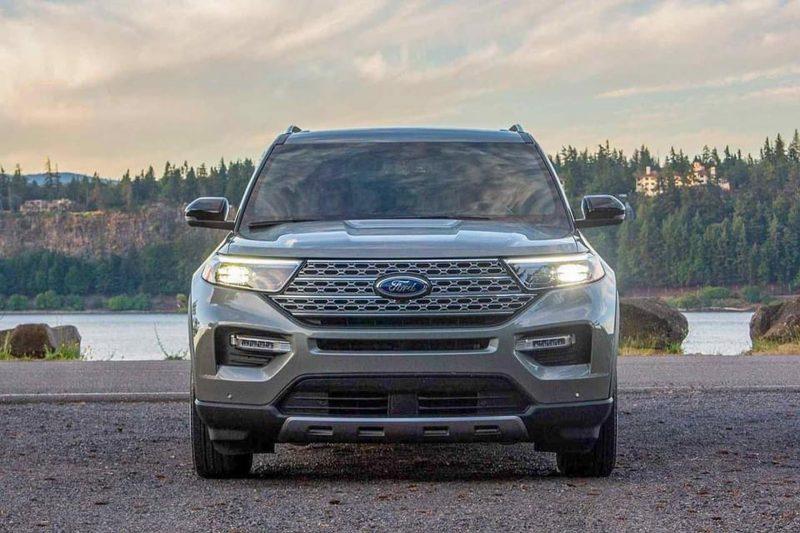 phần đầu ford explorer 2021 tại ford long biên